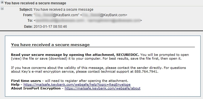 HIPAA compliant email