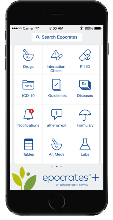 physician reference app