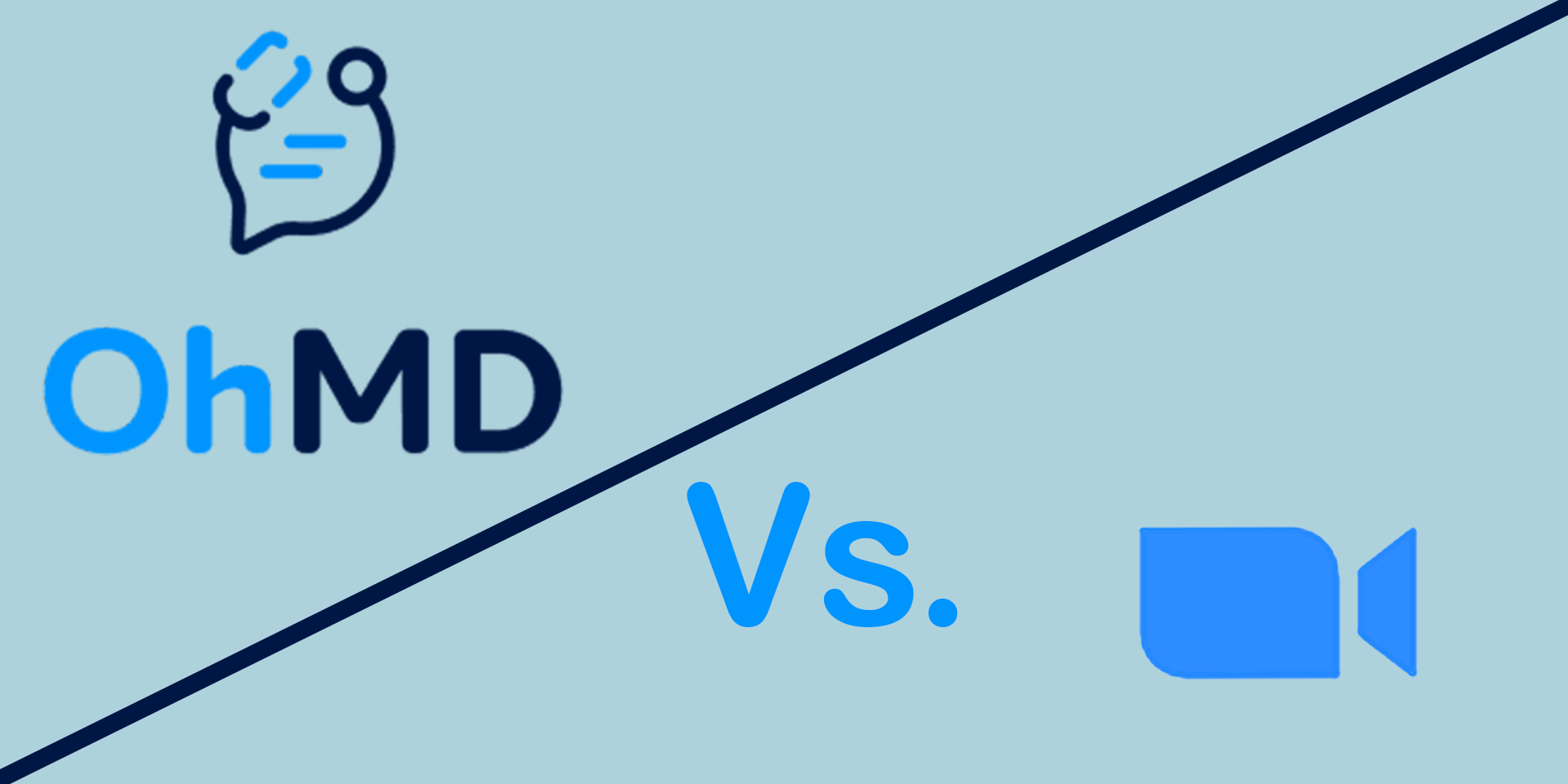 Telehealth comparisons between OhMD and Zoom