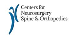 centers for neurosurgery spine & orthopedics